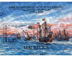Ref. 40547 * MNH * - MAURITIUS. 1998. 400TH ANNIVERSARY OF THE ARRIVAL OF THE DUTCH . 400 ANIVERSARIO DE LA LLEGADA DE - Mauricio (1968-...)