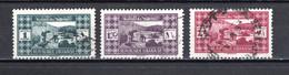 GRAND LIBAN  N° 164 à 166   OBLITERES COTE 3.00€ PAYSAGE VILLE  MONUMENT - Used Stamps