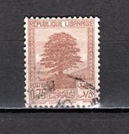 GRAND LIBAN  N° 169   OBLITERE COTE 0.30€     CEDRE ARBRE - Used Stamps