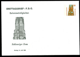 DOM SCHLESWIG Bund PU293 D1/001 1988 NGK 8,00 € - Iglesias Y Catedrales