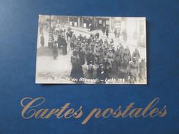 Luxembourg . Carte Photo . La Retraite Des Allemands 1918 . Rare - Lussemburgo - Città