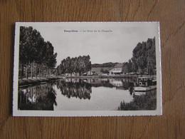 RONQUIERES Le Mont De La Chapelle Canal Bâteau Province Hainaut Braine Le Comte Belgique Carte Postale Postcard - Braine-le-Comte