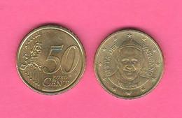 Vaticano 0,50 Cents 2014 Papa Francesco I° Vatikan State - Vaticano (Ciudad Del)