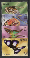 Nevis - 1983 - N°Yv. 110 à 113 - Papillon / Butterfly - Neuf Luxe ** / MNH / Postfrisch - Schmetterlinge