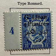 AFR99 Grand Liban Timbre De France 1924-1925 Surchargé Bilingue N°49 Avec Millsésime Neuf* - Unclassified