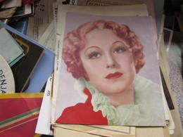 Das Schonheitsideal Von U S A Virginia Field 1939 19x19.5 Cm - Cinema Advertisement