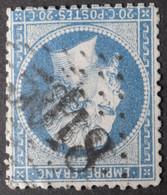 22 Obl BFE BUREAU SUPPLEMENTAIRE GC 5018 Bougie (Constantine, Algérie ) Ind 6 - 1849-1876: Classic Period