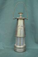 Rare Bouteille Liqueur De Collection Lampe De Mineur - Spirits
