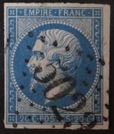 14B Margé, Obl BFE BUREAU SUPPLEMENTAIRE GC 5023 Constantine (Algérie ) Ind 4 - 1849-1876: Classic Period