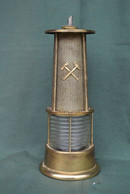 Rare Bouteille Liqueur De Collection Lampe De Mineur N°2 - Spirits