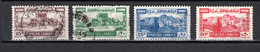 GRAND LIBAN  N° 193 à 196   OBLITERES COTE 21.00€      CITADELLE MONUMENT - Used Stamps