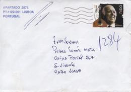 TIMBRES - STAMPS - LETTRE - PORTUGAL - 2011 - FADO - CARLOS DO CARMO (1939-2021) - Music