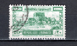 GRAND LIBAN  N° 194   OBLITERE COTE 5.25€     CITADELLE  MONUMENT - Used Stamps