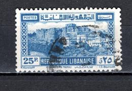 GRAND LIBAN  N° 195   OBLITERE COTE 5.25€  CITADELLE - Used Stamps