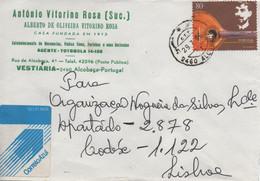 TIMBRES - STAMPS - LETTRE - PORTUGAL - 2011 - FADO - 100 ANS DE LA MORT DE L'HILARIO FADISTE - Music
