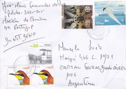 PORTUGAL. ENVELOPPE. CIRCULEE MACIEIRA DE CAMBRA A BUENOS AIRES, ARGENTINE. ANNEE 2009.- LILHU - Covers & Documents