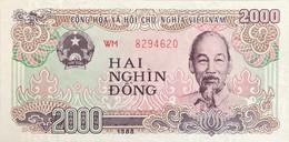 Vietnam 2.000 Dong, P-107b (1988) - UNC - Vietnam