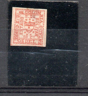 Colombie Bolivar 1863/66 Armoiries  10c Rouge - Colombia
