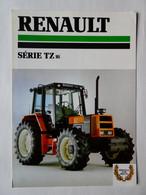 CR21 4 Pages Tracteur Agricole Renault Série TZ 16 Tractor Trattori Traktor Publicité Brochure Prospectus Publicitaire - Agriculture