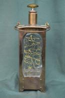 Rare Bouteille De Collection  Lampe Tempête  Musical - Spirits