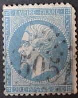22 Obl BFE BUREAU SUPPLEMENTAIRE GC 5051 Oran (Algérie ) Ind 2 - 1849-1876: Classic Period