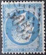22 Obl BFE BUREAU SUPPLEMENTAIRE GC 5055 Philippeville (Constantine, Algérie ) Ind 3 - 1849-1876: Classic Period