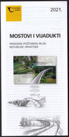 Croatia 2021 / Bridges And Viaducts / Prospectus, Leaflet, Brochure - Croatia