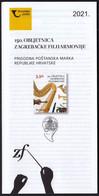 Croatia 2021 / 150th Anniversary Of The Zagreb Philharmonic Orchestra / Prospectus, Leaflet, Brochure - Croatia