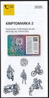 Croatia 2020 / Crypto Stamp 2, Kriptobriefmarke 2, History Of The Transfer Of Postal Items Prospectus, Leaflet, Brochure - Croatia