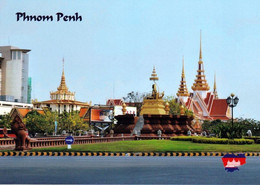 1 AK Kambodscha / Cambodia * Ansicht Der Hauptstadt Phnom Penh * - Cambodia