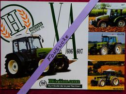 CH5 2 Pg Tracteur Agricole HURLIMANN  X Elite Master Etroit Tractor Trattori Traktor Publicité Brochure Publicitaire - Agriculture