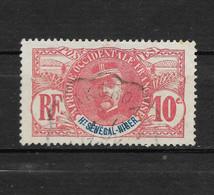 1 Timbre ° De Haut Sénégal Et Niger ( N° 5 - Général Faidherbe ) Emis En  19061 - Gebruikt