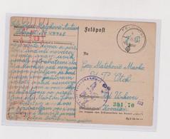 CROATIA WW II, 392. PLAVA DIVIZIJA  BLUE Division 1943 Military Stationery  FELDPOST  04776 B BLAUE DIVISION - Croatia