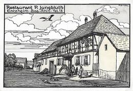 67 Bas Rhin - ENTZHEIM - Restaurant P. Jungbluth - - Other Municipalities