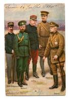 Carte Postale Ancienne - 1916 - Grands Chefs Militaire - Trou De Punaise Bas Centre - - Weltkrieg 1914-18