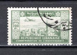 GRAND LIBAN  PA  N° 89   OBLITERE COTE 21.00€    MAISON MONUMENT  PAYSAGE AVION INDEPENDANCE  VOIR DESCRIPTION - Used Stamps