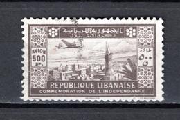 GRAND LIBAN  PA  N° 90   OBLITERE COTE 40.00€    MAISON MONUMENT  PAYSAGE AVION INDEPENDANCE  VOIR DESCRIPTION - Used Stamps