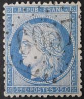 60C Obl BUREAU SUPPLEMENTAIRE GC 6057 Linxe (39 Landes ) Ind 13 - 1849-1876: Klassik