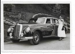 65-BAGNERES-DE-BIGORRE- Concours D'Elégance - Voiture MERCEDES BENZ 300 Limousine... Photo 11,5x16 (photo ALIX) - Automobili