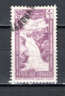 GRAND LIBAN  PA  N° 98   OBLITERE COTE 3.75€    TOURISME CHUTE D'EAU - Used Stamps