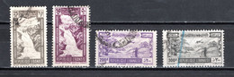 GRAND LIBAN  PA  N° 98 à 100  OBLITERES   COTE 23.50€    TOURISME CHUTE D'EAU SKI PAYSAGE AVION - Used Stamps