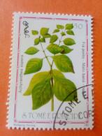 SAO TOME E PRINCIPE - Saint-Thomas Et Prince - Timbre 1983 : Plantes Médicinales - Achyrantes Aspera - Sao Tome And Principe