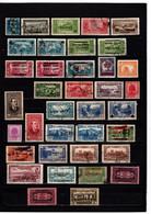 GRAND LIBAN  N° LOT DE 37 TIMBRES TOUS DEFECTUEUX   OBLITERES PRINCIPALEMENT   COTE 70.65€ - Used Stamps