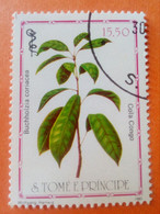 SAO TOME E PRINCIPE - Saint-Thomas Et Prince - Timbre 1983 : Plantes Médicinales - Buchholzia Coriacea - Sao Tome And Principe
