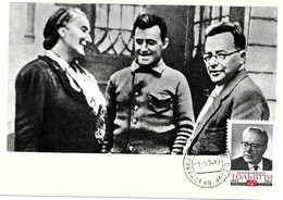 "Dolores Ibarruri "" La Pasionaria "" Y Palmiro Togliatti, Dirigeants Communistes. Guerre D'Espagne - Political Parties & Elections"