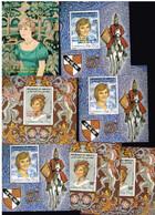 Dschibuti   Block    Lady Diana  Lot  Postfrisch MNH **    # 5515 - Yibuti (1977-...)