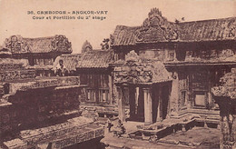 Cambodge - ANGKOR VAT - Cour Et Portillon Du Deuxième étage - Ed. Van Xuan 36 - Cambodia