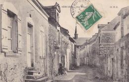 49 . BEHUARD. CPA. RUE PRINCIPALE. ANNEE 1911 + TEXTE - Otros Municipios