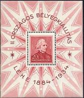 HONGRIE - HUNGARY - MUSIQUE / 1934 BLOC # 1 ** - MNH / COTE 240.00 EURO (ref 8305a) - Blokken & Velletjes