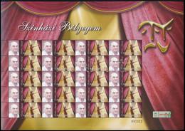 ** 2005-2008 Színház Bélyegem Gyűjtemény, 25 Db Különféle Megszemélyesített Teljes ív 50Ft Bélyegekkel (362.500) (apró H - Zonder Classificatie